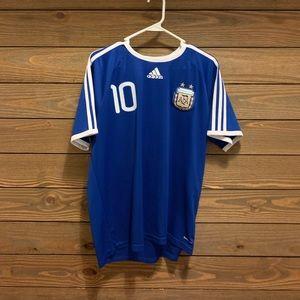 Adidas Argentina National Soccer Team Away Jersey